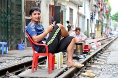 sur-les-rails (revesetsacados) Tags: voyage trip travel train asia vietnam rails asie hanoi lifescape tdm tourdumonde mgapole lifeisbeauty revesetsacados