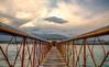 Qargha Lake, Kabul Afghanistan (naimatrawan) Tags: bridge blue sunset lake afghanistan water clouds canon photography golden nikon aqua hdr kabul paghman rawan naimat qargha gharqa