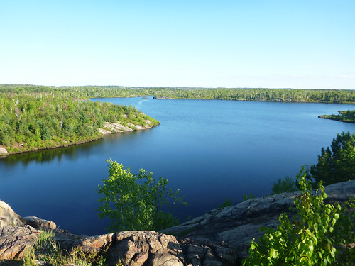 Lake laurentian lookout