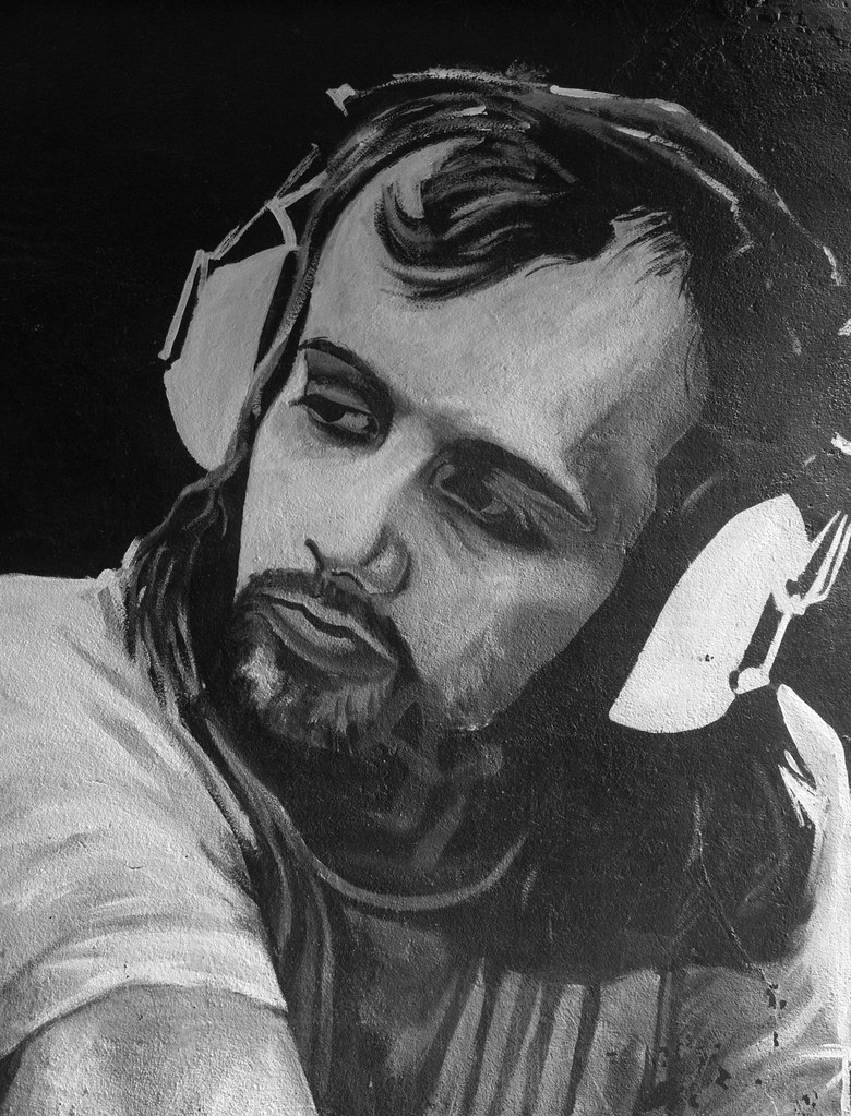 Street Art In Belfast [John Peel The Famous DJ] REF-104674