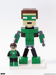 Green Lantern (MSP!) Tags: verde green justice dc lego characters lantern universe league linterna