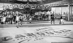 Jane's Carousel (mhoffman1) Tags: blackandwhite newyork monochrome brooklyn amusement us unitedstates carousel eastriver merrygoround hdr brooklynbridgepark sonyalpha a7r philadelphiatobogganco bklynbrdgpark