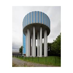 Water Tower, Flanders (Franois Lichtl) Tags: flanders vlaanderen flandre belgi belgium belgique architecture civilengineering concrete bton canon 17mm tse tiltshift