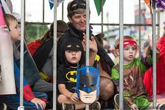 Kids - superheroes - Jacaranda Parade 2015 (sbyrnedotcom) Tags: 2015 people events grafton jacaranda parade rural town kids children superhero batman mask nsw australia