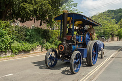Moonraker (Ben Matthews1992) Tags: old tractor vintage compound transport traction engine historic steam marshall vehicle preserved 1925 preservation threshing 5ton haulage 2016 moonraker roadrun 78953 4nhp td2652