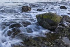Silk In The Beach (Nicolas Ferrer) Tags: longexposure water canon largaexposicion sigmalenses sigma1770mm silkwater canoneos60d
