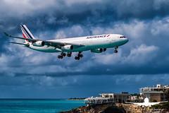 Air France A340-400_AS5J2569 (RJJPhotography) Tags: aviation caribbean sxm princessjulianainternationalairport