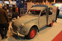 Citron 2CV Fourgonette (fangio678) Tags: retromobile 04 02 2016 paris voiture voituresanciennes ancienne collection cars classic coche oldtimer youngtimer citron 2cv fourgonette french francaise