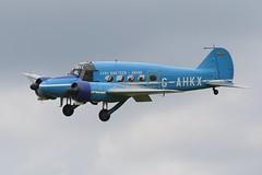 G-AHKX AVRO C-19 ANSON (MANX NORTON) Tags: raf bbmf dakota coningsby lancaster spitfire hurricane typhoon eurofighter 41sq a400 atlas hercules c130 f35b falcon 20 tornado sentinel r1 alphajet jaguar harrier apache