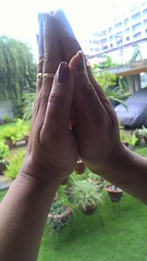 Hindu praying (ShaluSharmaBihar) Tags: hands hand pray praying hindu hindus