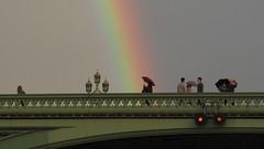 Pot of Gold 2 (cherylea_cater) Tags: london thames river rainbow boattrip shard countyhall teamnight