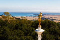 Hearst Castle-9723 (rly13) Tags: california ranch statue canon gold landscapes highwayone sigma hearstcastle overlook 1835mm
