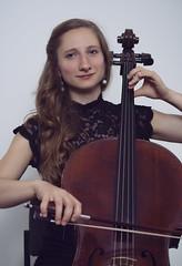 Cellist portrait with Ena (@bythetallone) Tags: cellist cello musician music portrait people studio