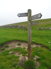 Where Now? Limestone Way near Castleton, Derbyshire (eamoncurry123) Tags: public way derbyshire hill limestone signpost lose footpath publicfootpath castleton losehill limestoneway