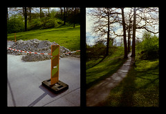 2016-04--05 - Olympus Pen EE - Kodak Ektar 100-10 (sarajoelsson) Tags: city urban color film analog pen spring diptych sweden stockholm snapshot olympus ishootfilm analogue halfframe everydaylife filmgrain vardag 2016 filmphotography penee filmisnotdead halvformat diptyk teamframkallning digitizedwithdslr