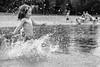 Edging Light Too (Michael Angelo 77) Tags: splash splashingwater summer fun drops portrait girl lake monomonday bw