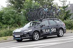 voiture Tour de France 2016 - Team SKY (gimbellet) Tags: canon nikon auto automobiles voiture véhicules cars camion france french extérieur motor transport transportation cyclisme vélo sport voitures