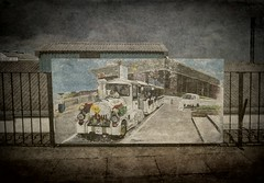Tatty Road Train Painting (Ciannwn) Tags: roadtrain painting