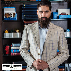 SUITS YOU SIR !! If you have to suit up in the rain (menswear by Ravi Gupta) Tags: ravigupta delhi india dandy checks twobutton jacket summer luxury menswear dapper printed bow cotton shirt fashionforward slimfit nightlife outfit bespoke tailoring