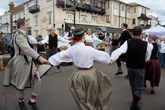 Dance Displays @ Sidmouth Folk Week (2016) 26 - Folk Dance Group Dandari (KM's Live Music shots) Tags: worldmusic latvia folkdancegroupdandari dancers sidmouthfolkweek esplanadesidmouth