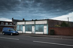 The Blue Hour (Number Johnny 5) Tags: tamron d750 nikon decay van clouds blue urban derelict ouotdoors car vauxhall deserted gorleston crusty sky 2470mm twilight