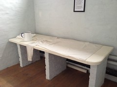 Workhouse mortuary table (Ripon Museums) Tags: workhouse victorian ripon mortuary