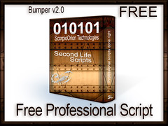 Bumper v2.0 (Scorpio technologies, inc) Tags: script push fullpermissions bumper collision running into each other second life scorpio orion technologies