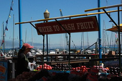 San Francisco 2016 (timkeaty) Tags: fruit fruitstand washfruit