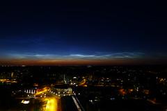 Noctilucent Clouds (timo_w2s) Tags: noctilucentclouds vuosaari helsinki finland night nlc cirrus