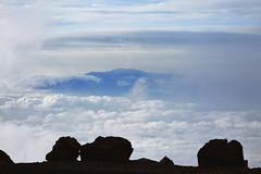 west Maui mountains from Haleakala (heartinhawaii) Tags: maui haleakala westmauimountainsfromhaleakala abovetheclouds fog foggy mist misty cloudy moody serene upcountry summit volcano mauivolcano hawaii mauiinnovember shotfromcar canons90