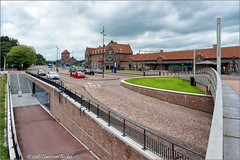 Stationsplein Deventer (Hans van Bockel) Tags: nikon d7200 raw nef dng deventer binnenstad stad city architectuur photoshop thenetherlands nld station stationsplein busstation rijwielstalling explore