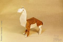 Fumiaki Kawahata - Lama (IverRu) Tags: iver kawahata lama origami оригами лама
