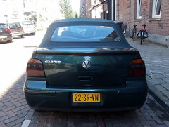 Volkswagen Golf 4 cabrio 1999 nr2166 (a.k.a. Ardy) Tags: 22srvn softtop