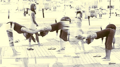 Yoga Dreamer (gks18) Tags: canon yoga burnaby dream people outdoors doubleexposure nik lightroom
