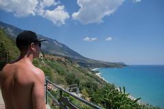 Kefalonia (Leanne 211) Tags: man boyfriend kefalonia holiday peaceful walk sun beach sunburn
