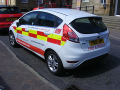 4752 - Lancs FRS - PO16 JNF - 034 (Call the Cops 999) Tags: uk gb united kingdom great britain england vehicle vehicles emergency service services 999 112 lancashire lfrs fire and rescue ford fiesta po16 jnf battenburg