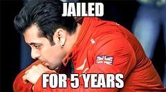 Salman Khan jailed for 5 years!! (nepalichalchitra) Tags: movies celebrities celebs nepali chalchitra