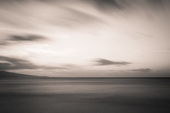Three Minute Monochrome (jasenk) Tags: bw seascape landscape dusk 10stop