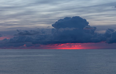 Today's dawn in the Norweigan Sea (Per-Karlsson) Tags: morning pink sea sun water norway clouds sunrise dawn atlantic norwegiansea canoneos6d
