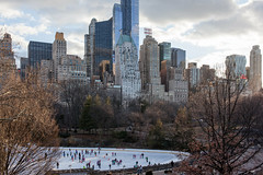 Central Park (Gary Kinsman) Tags: newyork newyorkcity nyc america usa canoneos5dmarkii canon5dmkii manhattan midtown midtownmanhatten office offices tower skyline skyscraper highrise density architecture modernism modernist artdeco contrast centralpark trumprinkincentralpark icerink hampshirehouse essexhouse one57 hearsttower centralparkicerink 2015 canon35mmf2