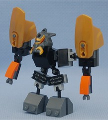 Wardog (Mantis.King) Tags: lego scifi mecha mech moc microscale mechaton mfz mf0 mobileframezero orphanbuild