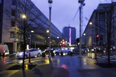 City lights (MR@tter) Tags: brussels geotagged bokeh blurred be brüssel brussel unscharf belgien sonydscrx100