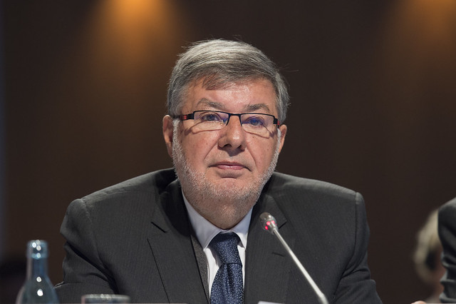 Alain Vidalies in attendance at the Open Ministerial Session