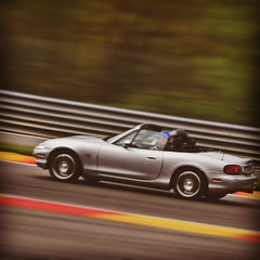 Speed (Philippe Blanchard) Tags: classic square squareformat mazda spa hefe mx5 francorchamps 2015 iphoneography instagramapp uploaded:by=instagram