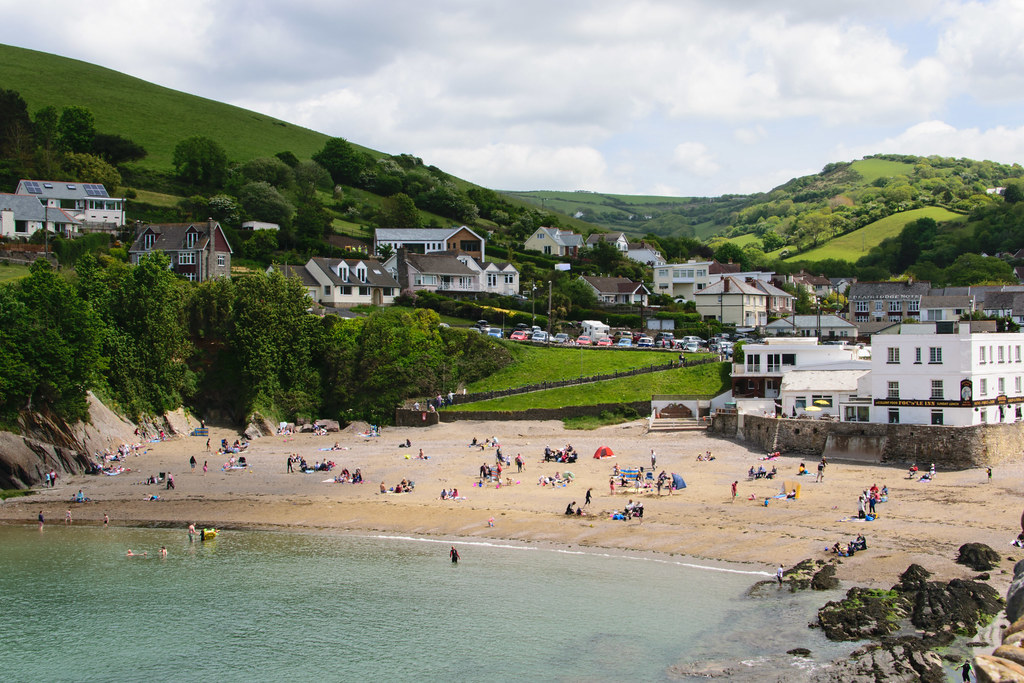 Combe Martin Beach Dog Friendly