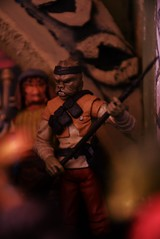 Khitaba....Jabba Skiff guard (Felinomoruno) Tags: star wars the return jedi toys figures collections photos khitaba jabba hutt oola skiff guard barada retur dioramas jabbas palace starwars
