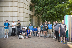 2015 05 30 - 7285 - DC - Ingress Anomaly (thisisbossi) Tags: usa washingtondc dc nw unitedstates northwest persepolis resistance anomaly reaganbuilding anomalies niantic ingress reagancenter