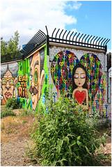 East End Street Art (Mabacam) Tags: streetart london wall graffiti stencil mural wallart urbanart shoreditch freehand publicart aerosolart spraycanart stencilling eastend greenhouseeffect waleska 2015 urbanwall waleskanomura nomadiccommunitygardens