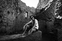 chteau Peyrepertuse (Haixi0921) Tags: white black castle castillo catar