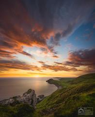 Idrigill point (kris greenwell) Tags: idrigillpoint isleofskye cliffs coast coastal d7100 dramatic glow krisgreenwellphotography landscape meadow nikon rocks scotland sea seascape sigma sky sunset travel uig uk wideangle